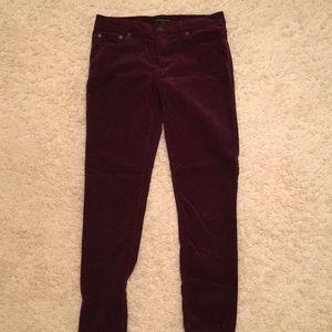 Maroon Corduroy pants